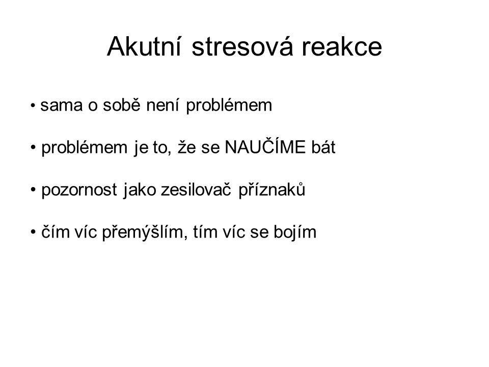 1.volba: KBT / RIMA (moclobemid) / SSRI (paroxetin, setralin, fluvoxamin) 2.
