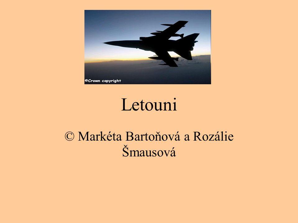 Letouni © Markéta Bartoňová a Rozálie Šmausová