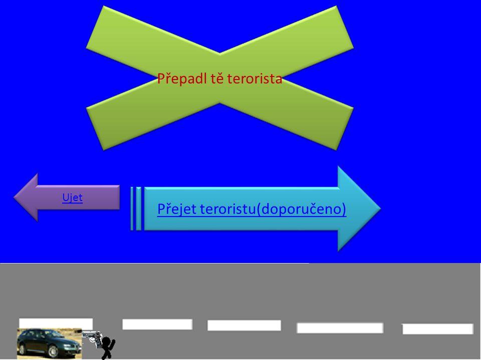 Přepadl tě terorista Přejet teroristu(doporučeno) Ujet