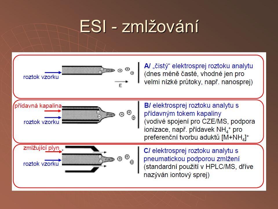 ESI - zmlžování