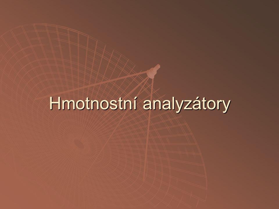 Hmotnostní analyzátory