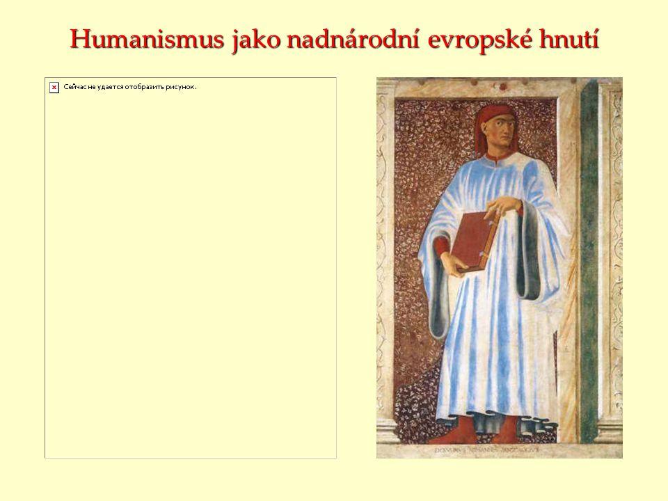Humanismus jako nadnárodní evropské hnutí