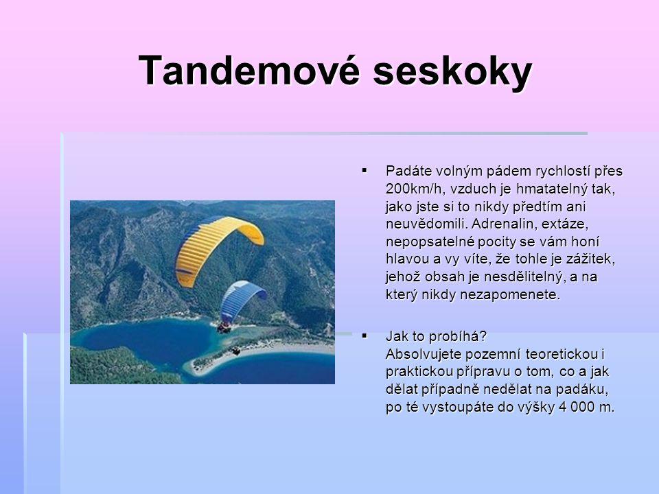 Akrobatický let  Jak to probíhá….