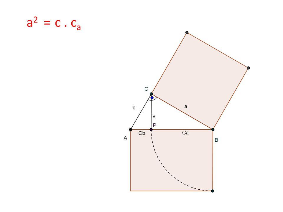 a 2 = c. c a