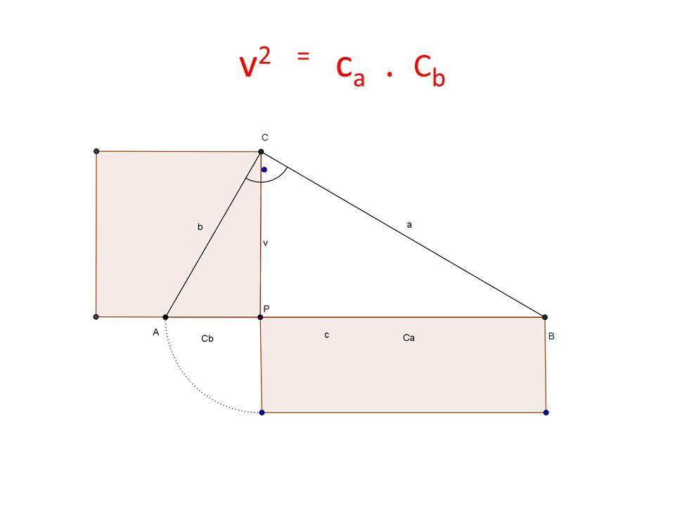 v 2 = c a. C b