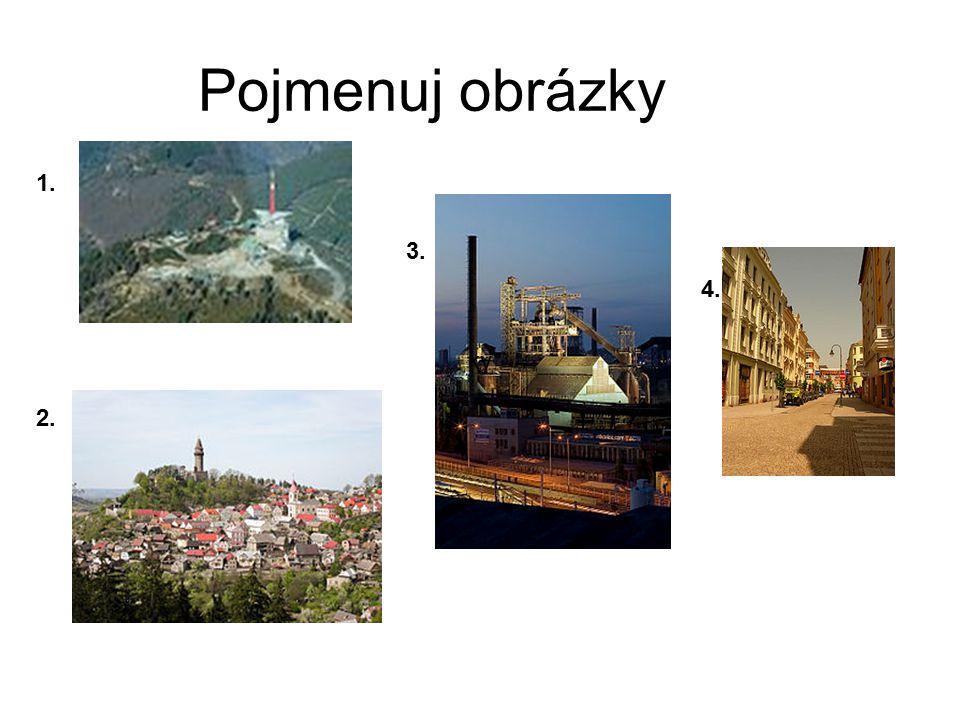 Pojmenuj obrázky 1. 3. 2. ky 4.