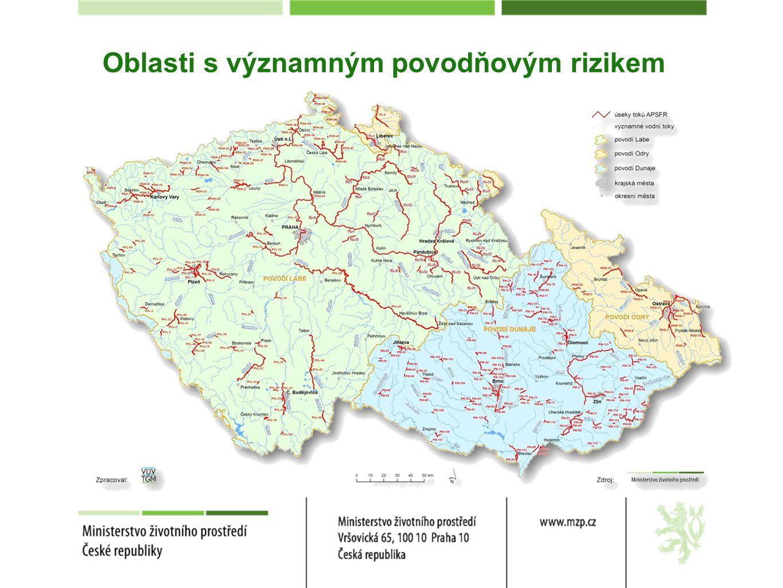 Konkrétní opatření stavebního charakteru 2.3.Opatření v korytech vodních toků 2.3.1 – zkapacitnění koryt vodních toků 2.3.2 – výstavba ochranných hrází podél koryt vodních toků (včetně mobilních prvků) 2.3.7 – odlehčovací obtokové kanály Opatření pro zvládání povodňových rizik