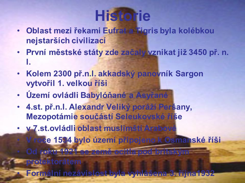 Historie Během II.