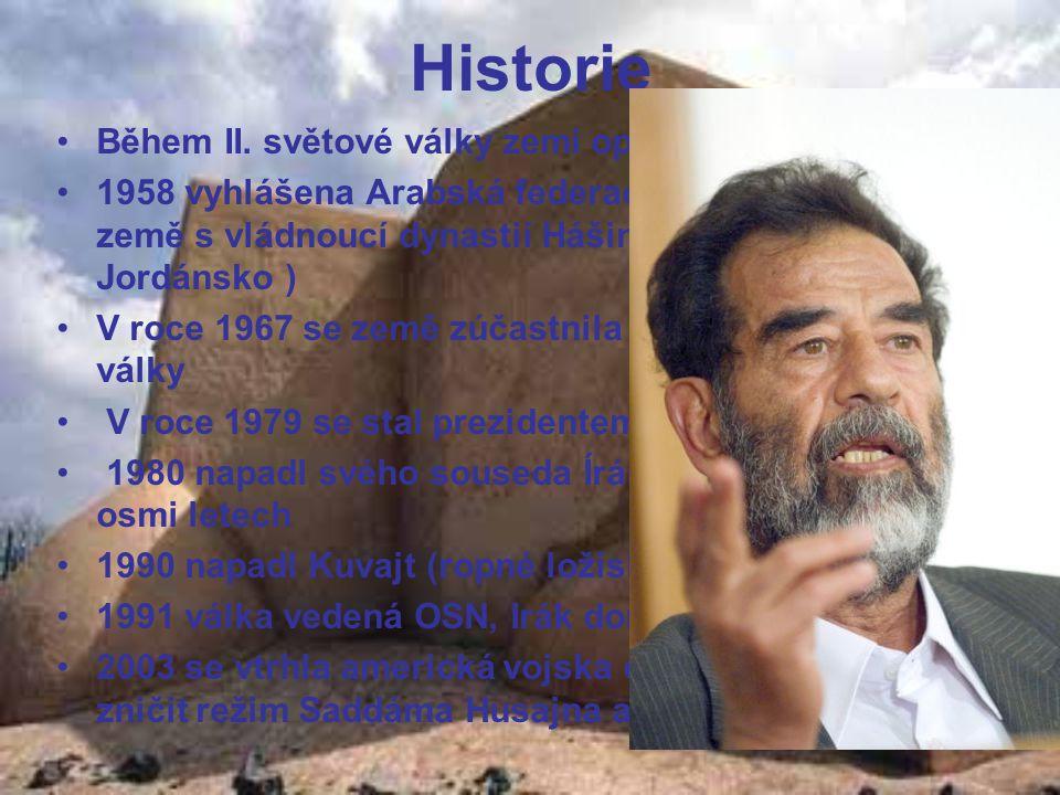 Politika Forma vlády: prezidentská Hlava státu: Džábal Talabání (2006) Předseda vlády: Džavad Maliki (2006) Státní zřízení: republika Členství: OSN, OPEC, LAS Správní členění: 18 provincií