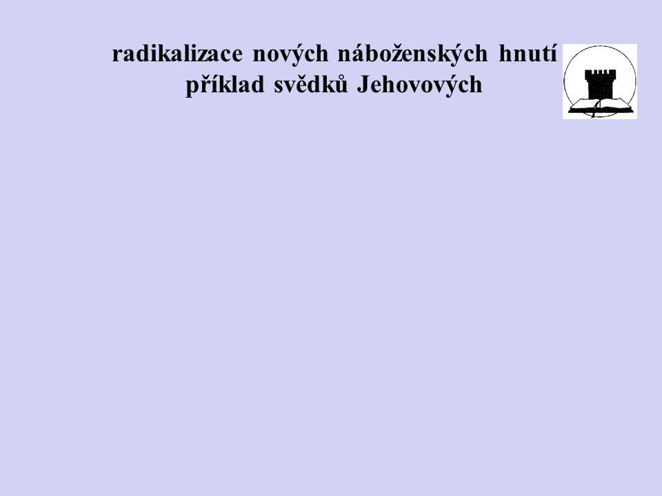 příklad svědků Jehovových