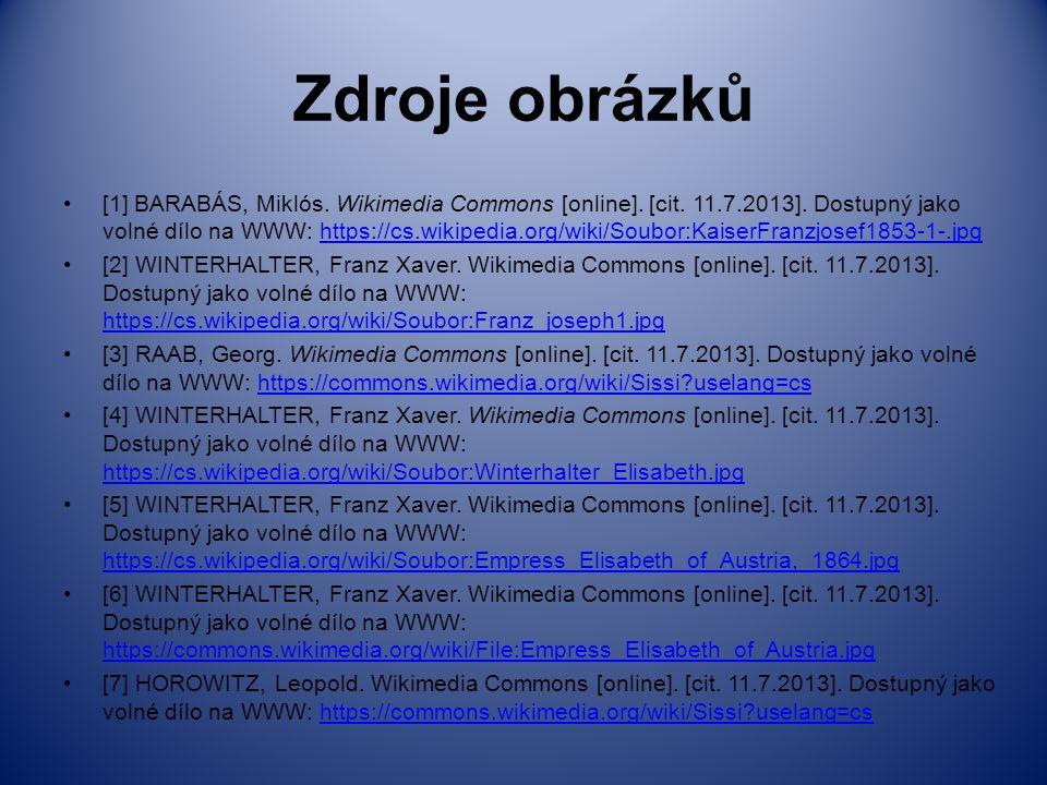 Zdroje obrázků [1] BARABÁS, Miklós. Wikimedia Commons [online]. [cit. 11.7.2013]. Dostupný jako volné dílo na WWW: https://cs.wikipedia.org/wiki/Soubo