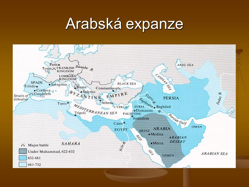 Arabská expanze