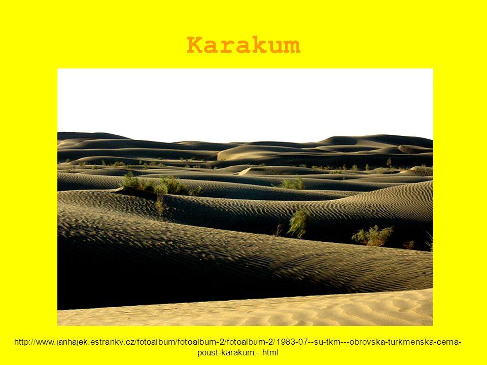 Karakum http://www.janhajek.estranky.cz/fotoalbum/fotoalbum-2/fotoalbum-2/1983-07--su-tkm---obrovska-turkmenska-cerna- poust-karakum.-.html