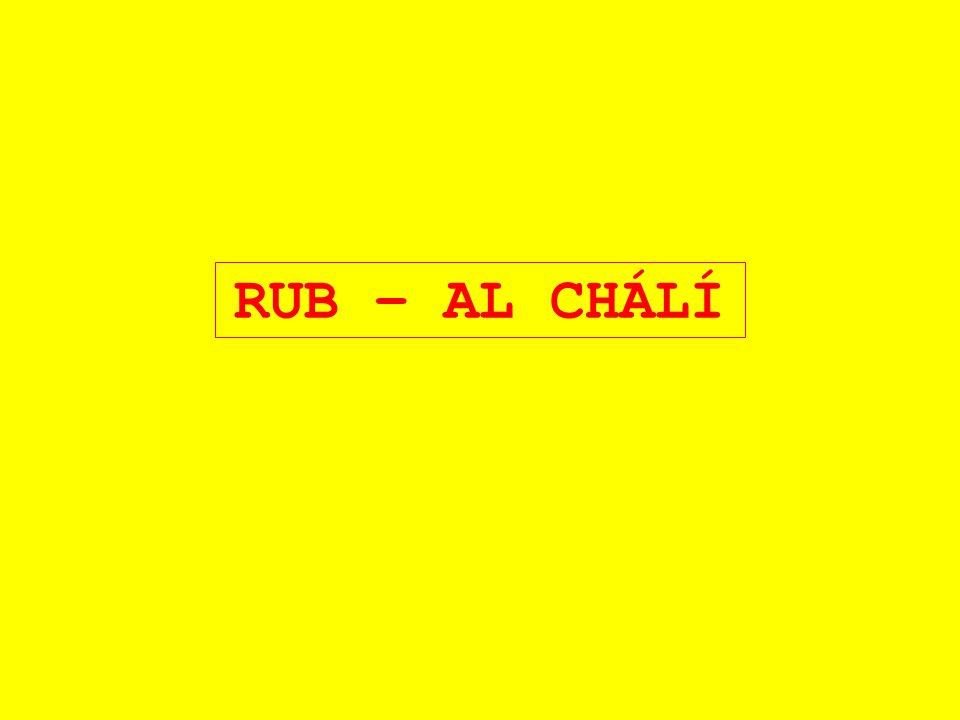 RUB – AL CHÁLÍ