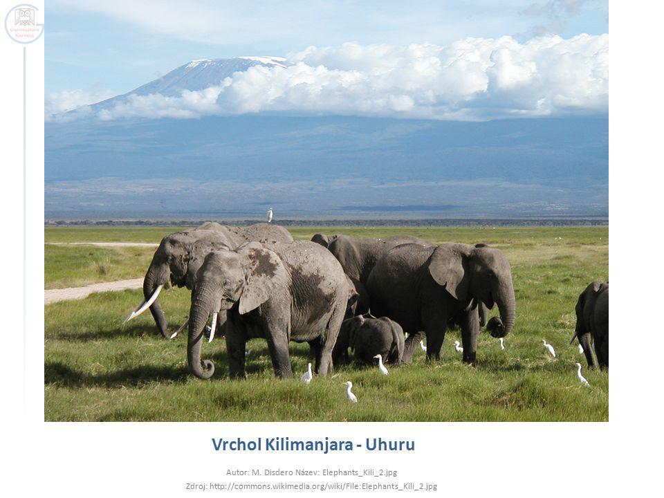 Vrchol Kilimanjara - Uhuru Autor: M.