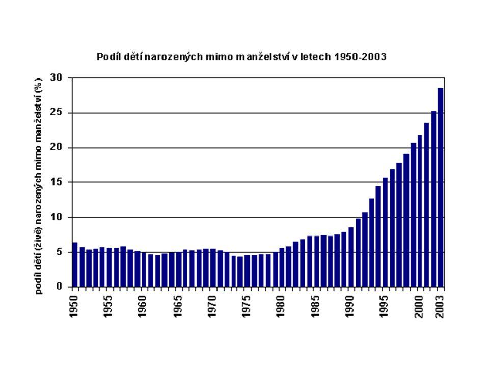 Analytické ukazatele populačního vývoje v České republice v roce 2004 a 2005