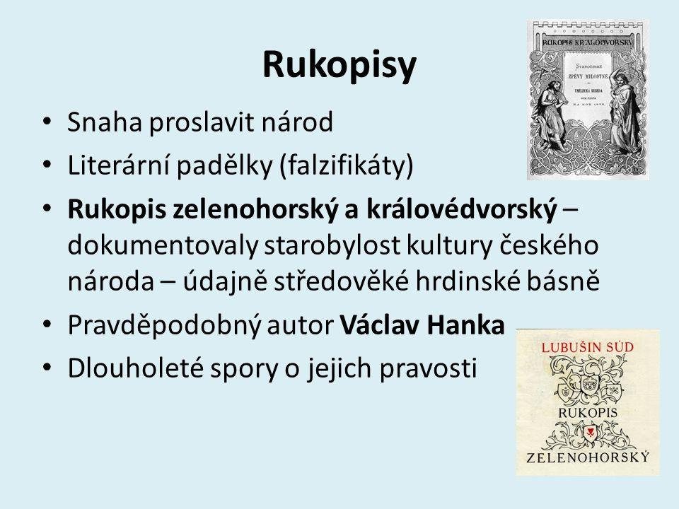 František Palacký Uč. str. 67 – nahoře Odpověz na otázky v tabulce.