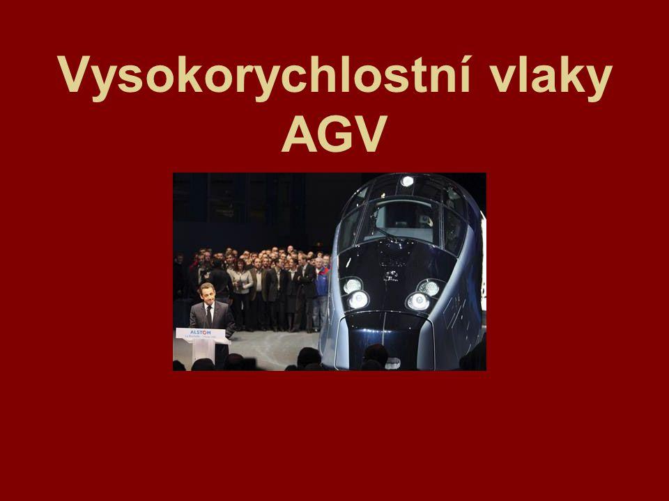 Počátky vlaků AGV První studie vztahující se k vlakům s obchodním názvem Automotrice Grande Vitesse (dále jen AGV) se datují k roku 1998.