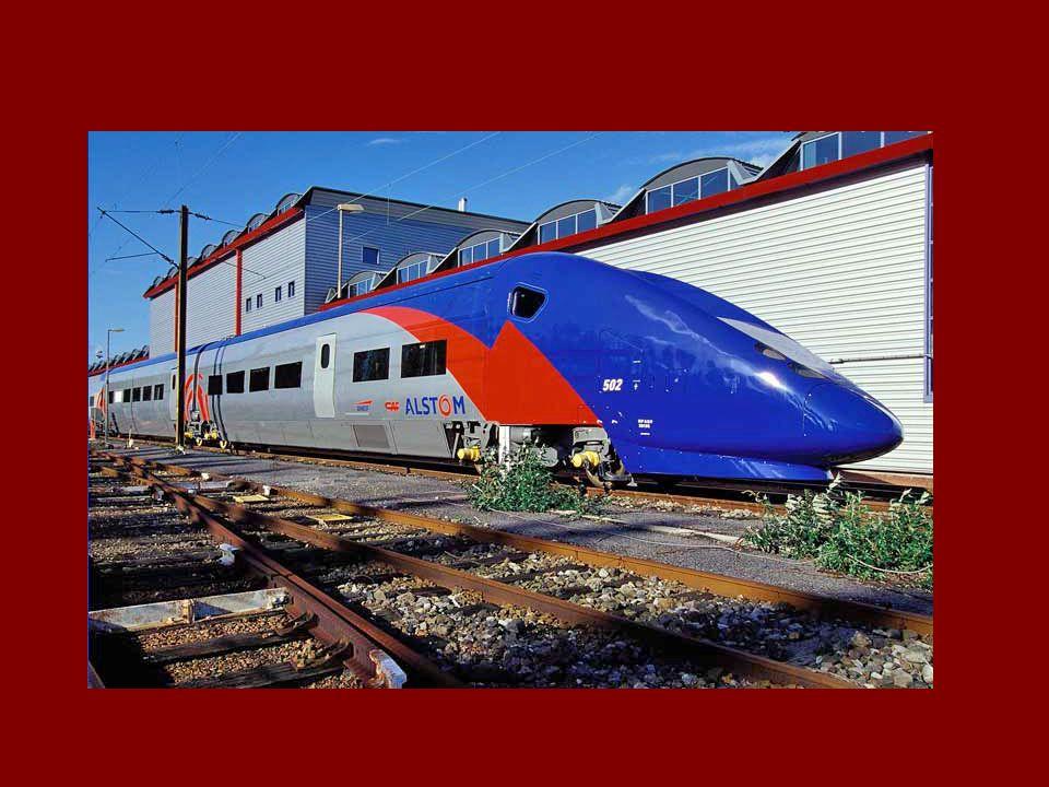 Současné AGV Dnešní verze vysokorychlostních vlaků se začala vyvíjet v roce 2004.