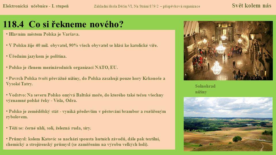 118.5 Procvičení a příklady Elektronická učebnice - I.