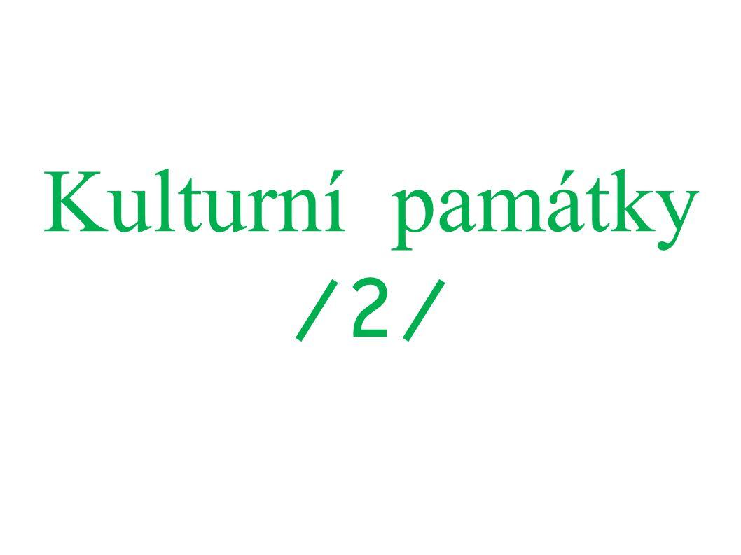 Kulturní památky /2/