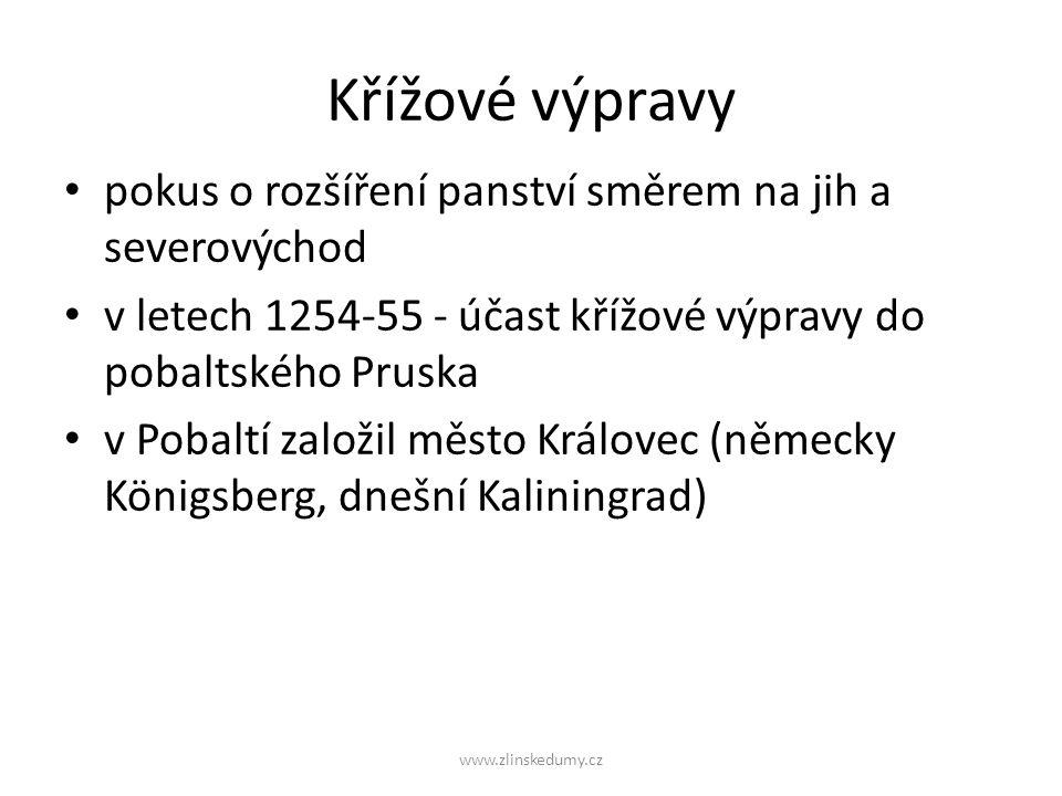Zásluhy Otakara Přemysla II.