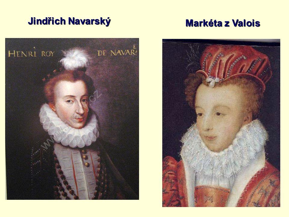 Jindřich Navarský Markéta z Valois