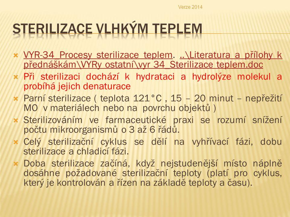  VYR-34_Procesy sterilizace teplem...\Literatura a přílohy k přednáškám\VYRy ostatní\vyr 34_Sterilizace teplem.doc VYR-34_Procesy sterilizace teplem.