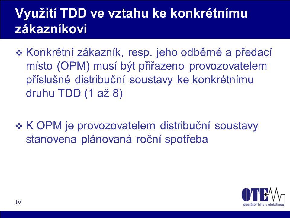 10 Využití TDD ve vztahu ke konkrétnímu zákazníkovi  Konkrétní zákazník, resp.