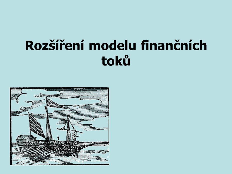 Rozšíření modelu finančních toků