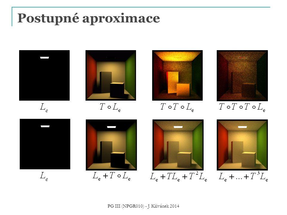 Postupné aproximace PG III (NPGR010) - J. Křivánek 2014