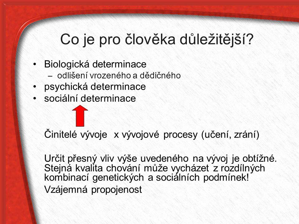 Historie Teorie preformismu (18.Stol.) - vývoj předem určen v zárodku.