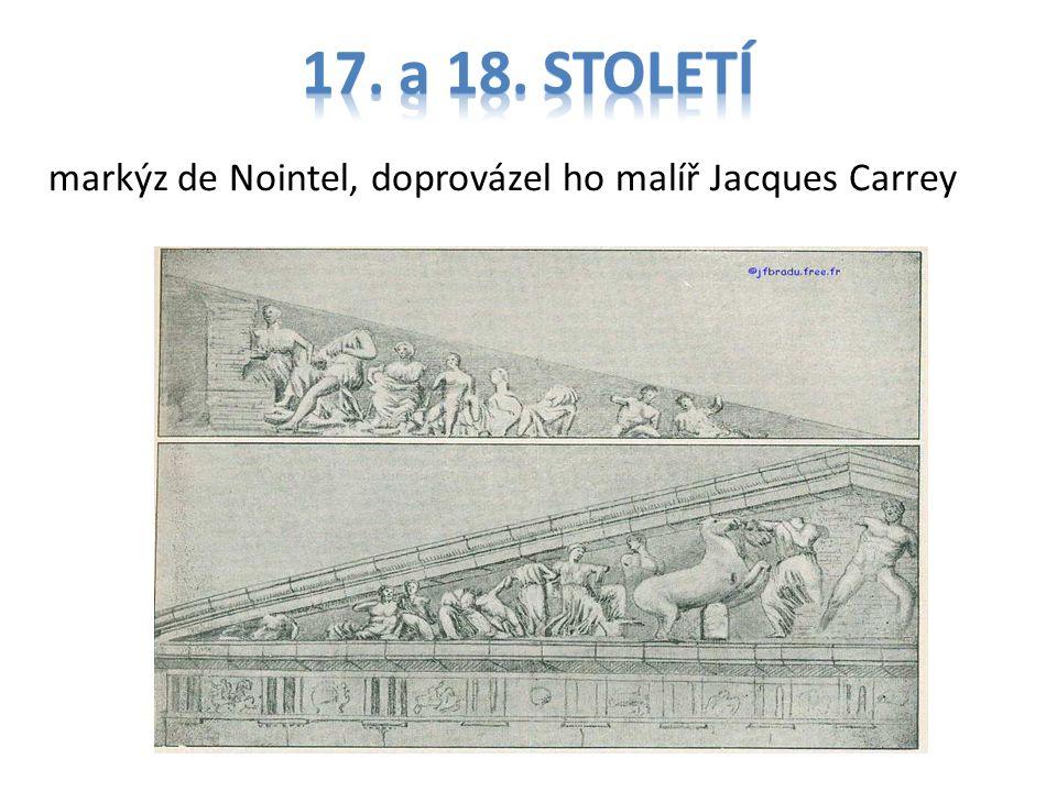 markýz de Nointel, doprovázel ho malíř Jacques Carrey