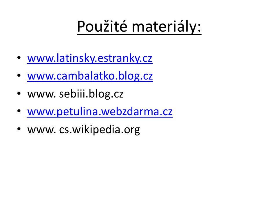 Učební materiál: Autor: Mgr.Marcela Krychová Ročník: 5.
