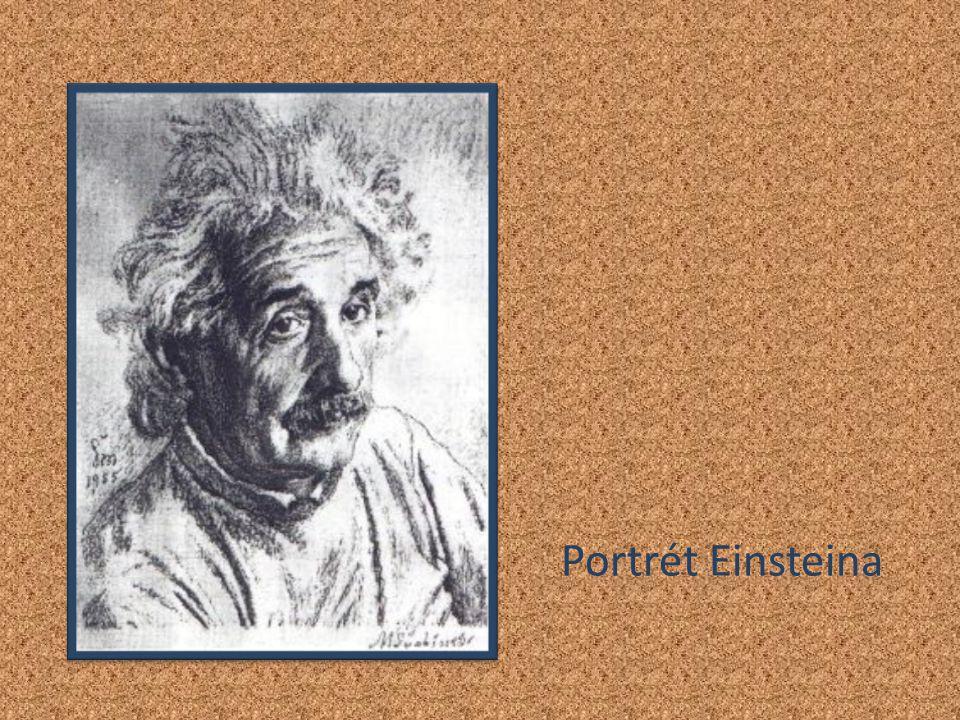 Portrét Einsteina
