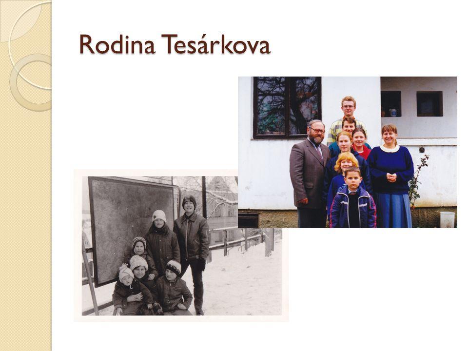 Rodina Tesárkova
