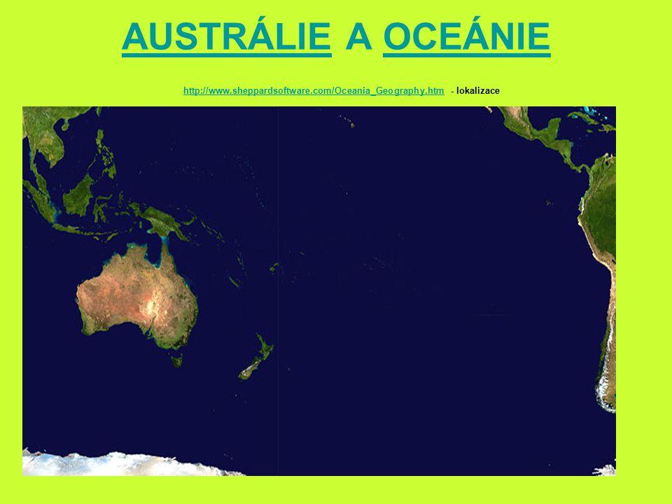 AUSTRÁLIEAUSTRÁLIE A OCEÁNIEOCEÁNIE