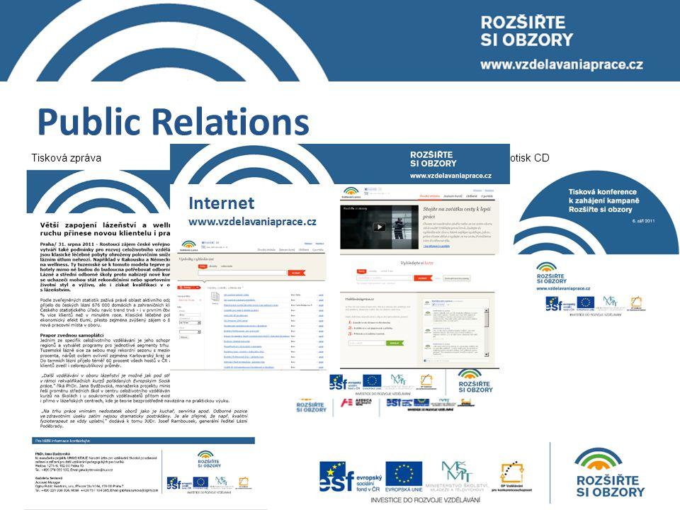 Public Relations Potisk CDTisková zprávaPozvánka