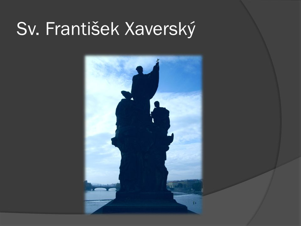 Sv. František Xaverský