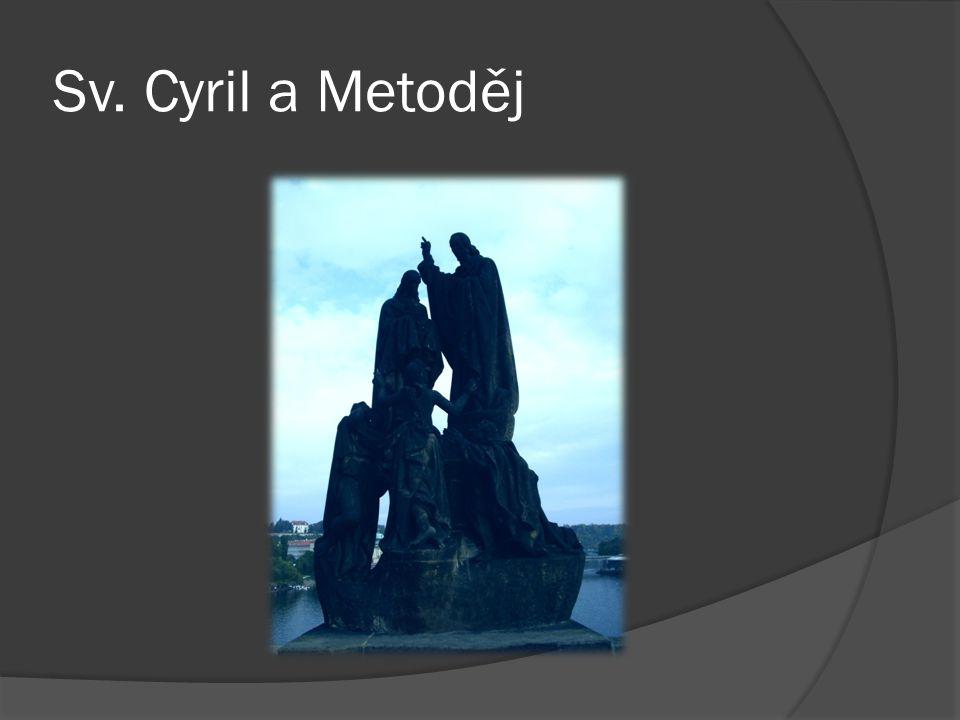 Sv. Cyril a Metoděj