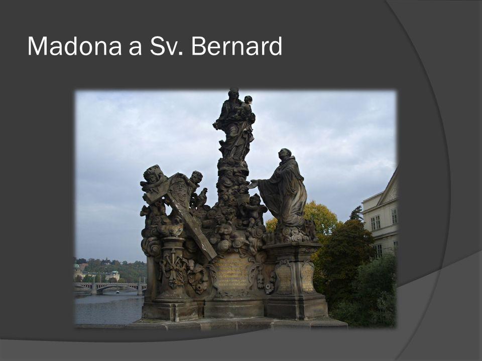 Madona a Sv. Bernard