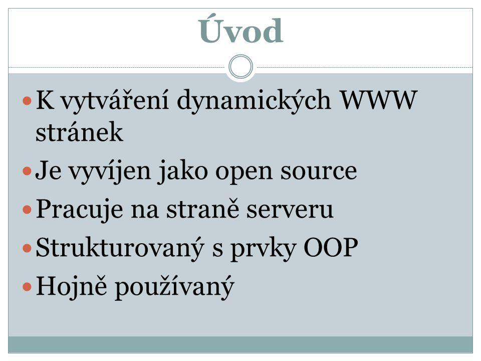 Instalace 1.OS linux (redhat, debian,…) 2. Httpd server (apache, lighttpd,…) 3.