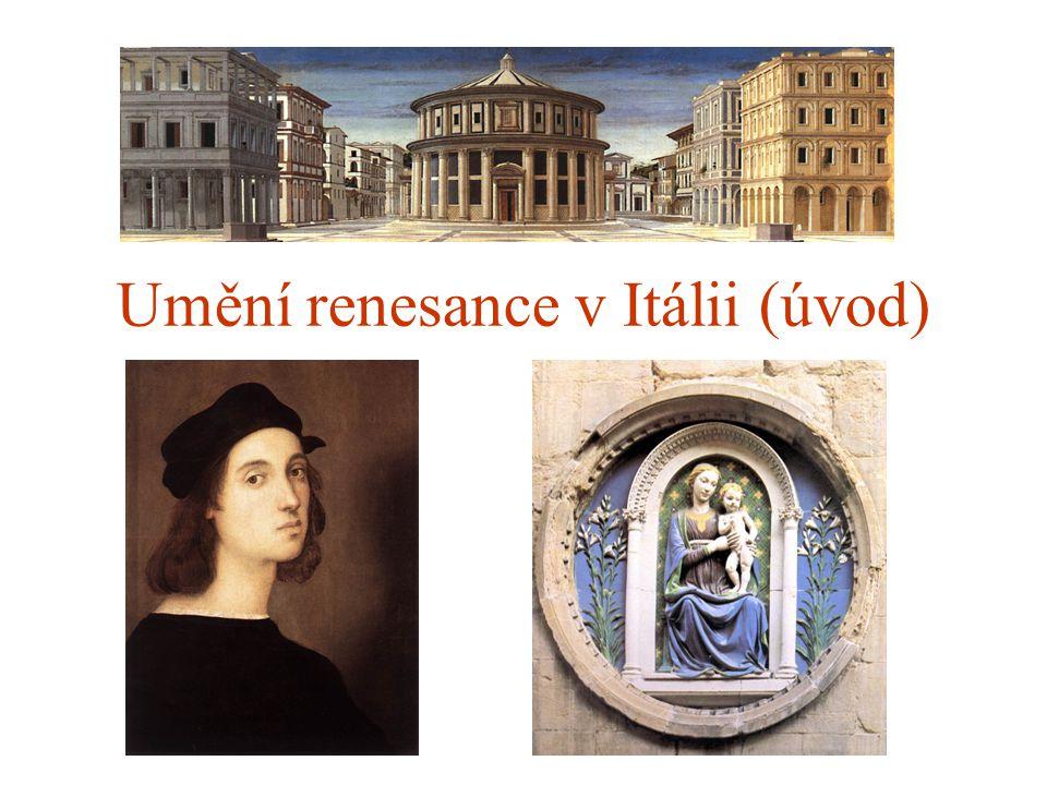 Umění renesance v Itálii (úvod)
