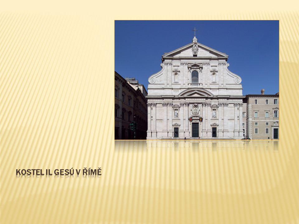  zakladatelem dynamického typu baroka  složité stavby plné kontrastů  kostel San Carlo alle Quattro Fontane  konvexně-konkávní křivka
