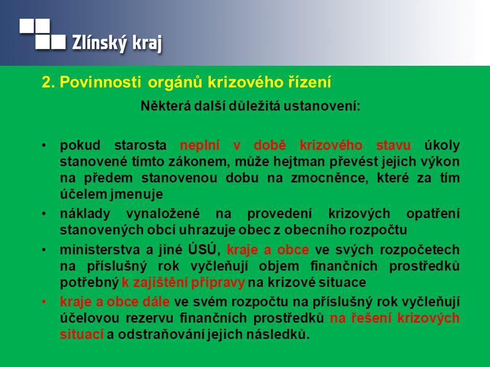 Na koho se obrátit v oblasti krizového řízení.ORPJméno a příjmeníTelefon mail KroměřížIng.