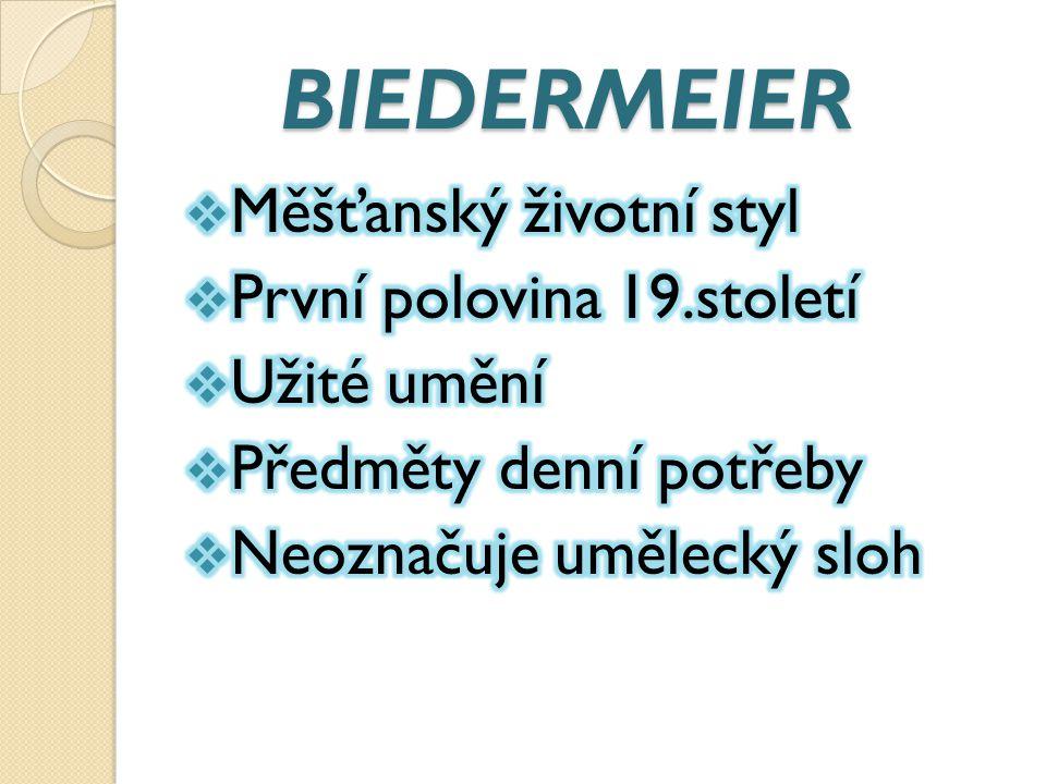 BIEDERMEIER