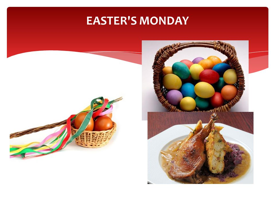 EASTER'S MONDAY