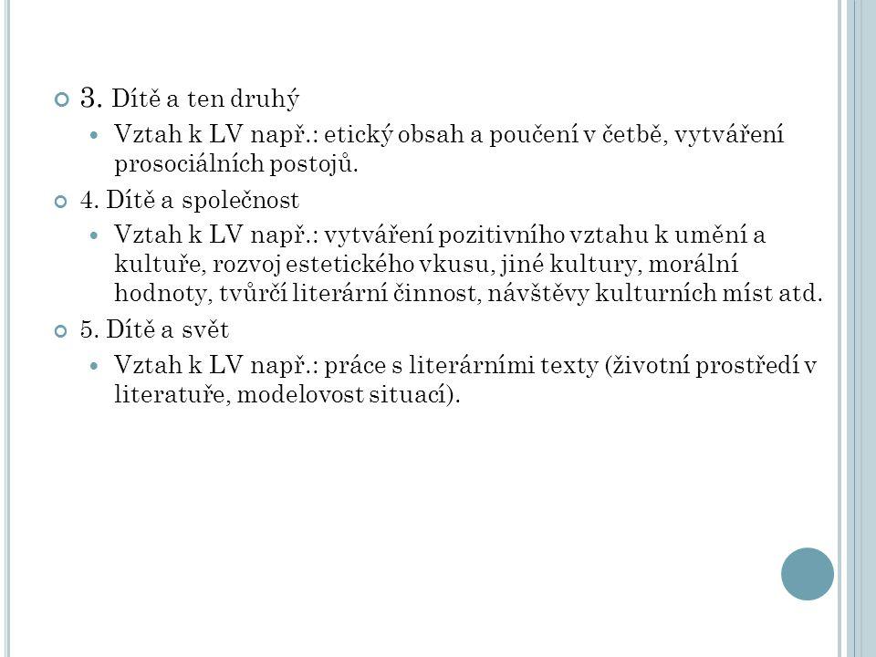 TYPY LITERÁRNĚVÝCHOVNÉHO PŮSOBENÍ V MŠ: Předčítání knih (příběhů) bez navazujících činností (za odměnu, před spaním…).
