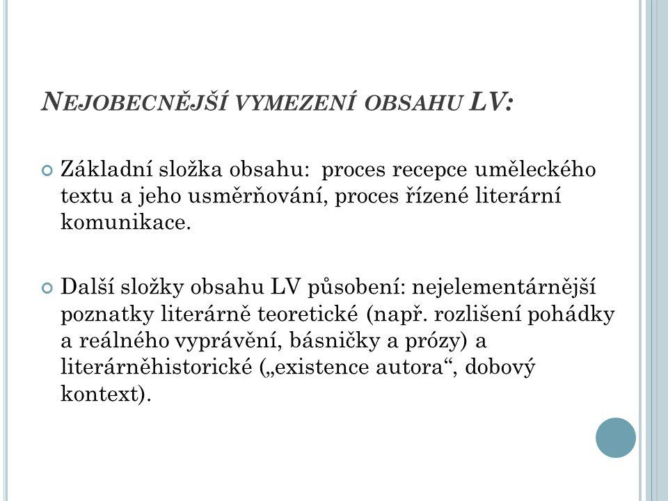 """N ĚKOLIK POZNÁMEK K ZÁKLADNÍMU OBSAHU LV - TEXTU P OVAHA UMĚLECKÉHO TEXTU Text (dílo) – chápáno jako """"znak určený k dešifrování jako celek i ve všech svých složkách (literárněvědné východisko strukturalistické – pojmy """"znak , """"struktura , """"autorský záměr , prvky a jejich vzájemné vztahy, """"funkce ; zdůraznění významu jazykové roviny text, způsobu jazykového vyjádření."""