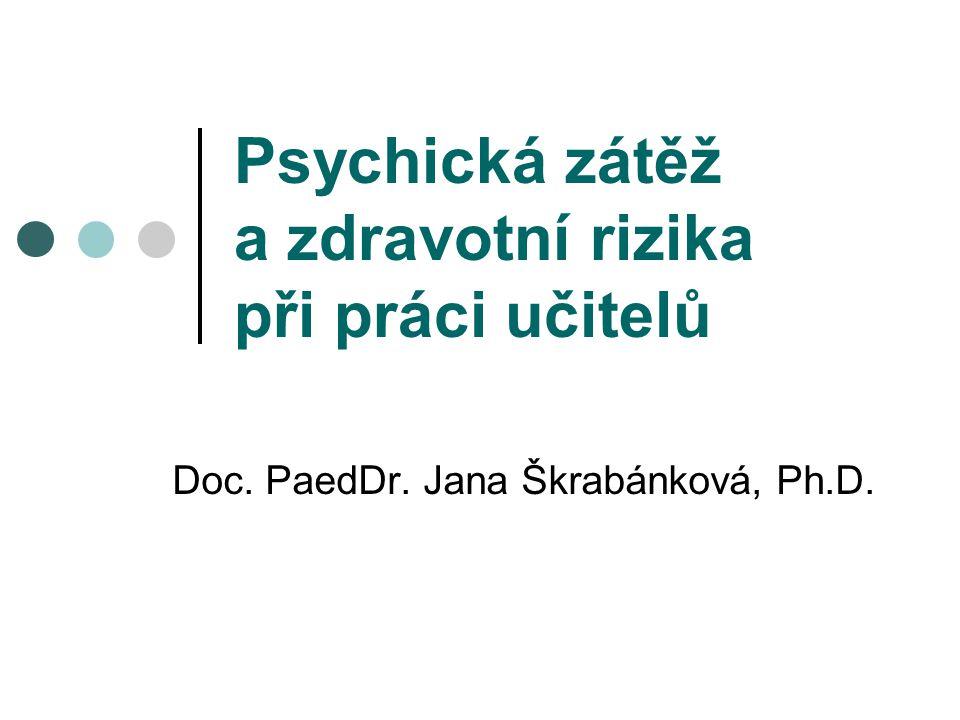 Zátěž Zátěž se v psychologii práce a psychohygieně chápe jako nesoulad mezi požadavky na pracovníka a jeho možnostmi, tedy mezi tím, čemu je vystaven (expozice) a tím, jaké jsou jeho předpoklady tyto nároky zvládnout (dispozice).